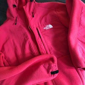 North Face fleece jacket. Crazy warm!